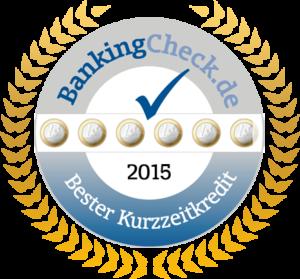 Bester Kurzzeitkredit 2015